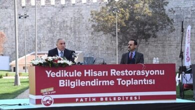 Photo of YEDİKULE HİSARI RESTORE EDİLİYOR