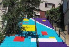 Photo of Beşiktaş'ın Merdivenleri Renklendi
