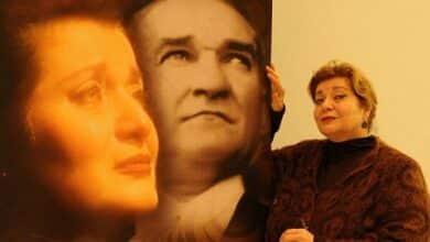 """Photo of """"Mustafa Kemal'le Bin Gün – Latife"""" oyunu Harbiye Açık Hava'da…"""