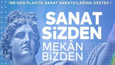 """Photo of İBB'den """"Plastik Sanatlar"""" Alanındaki Sanatçılara Destek"""