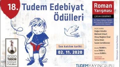 Photo of Tudem Edebiyat Ödülleri'ne başvuru için son 1 ay!